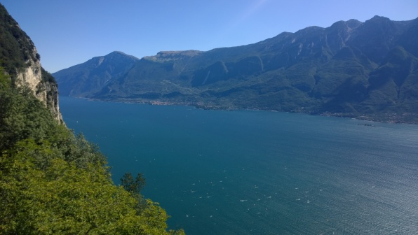 Malcesine e alto lago