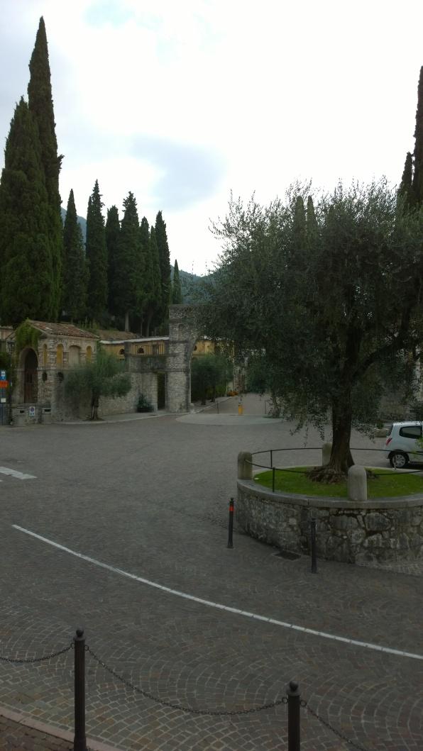 Ingresso Vittoriale degli Italiani