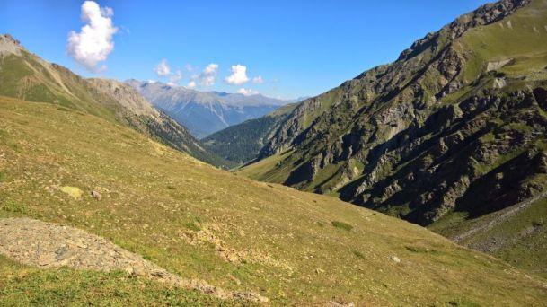 Discesa in svizzera