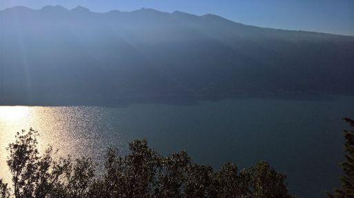 Alto lago e Monte Baldo dal Santuario