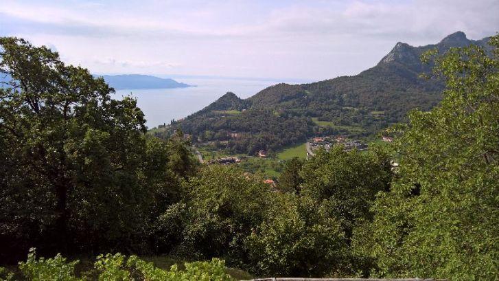 Formaga, vista sul lago