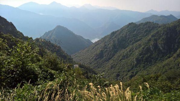 Lago d'Idro dal Baremone