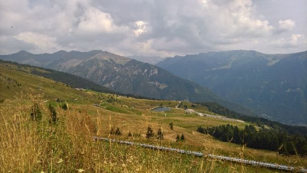 Monti verso il Crocedomini e valle del Caffaro