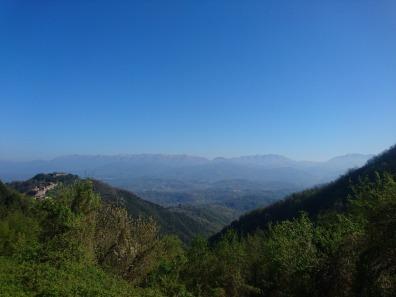 Crinale vista verso Ponzanello