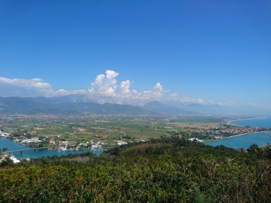 Foce del Magra e Alpi Apuane