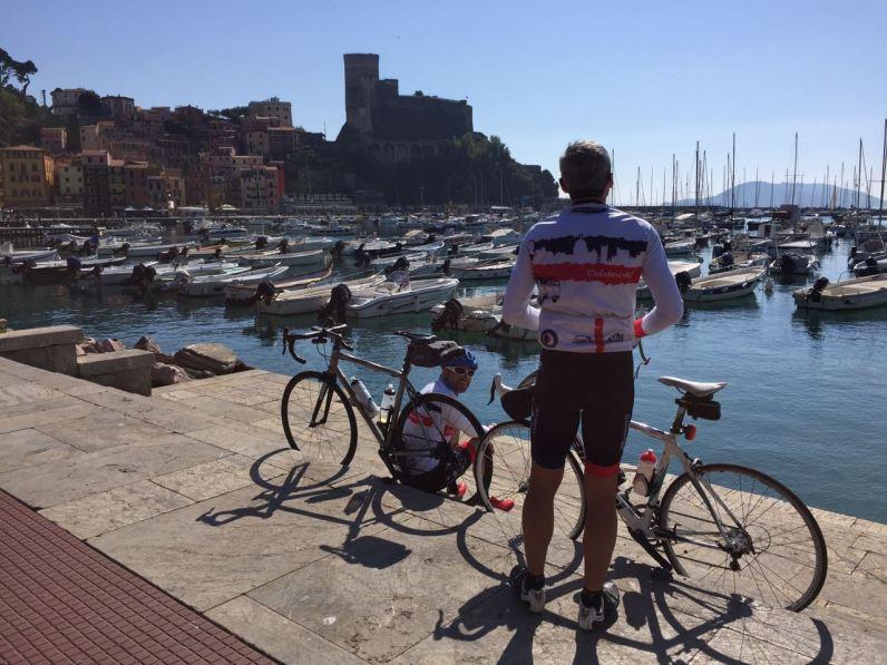 Ironmax al porto di Lerici