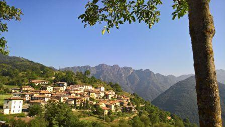 Moerna, dietro il monte Cingla