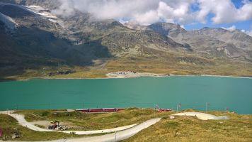 Lago Bianco e Ghiacciaio