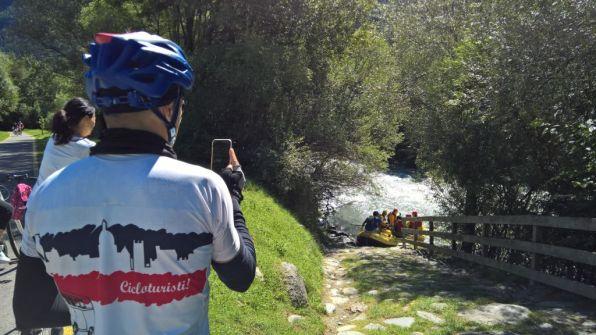 Rafting sul torrente Noce
