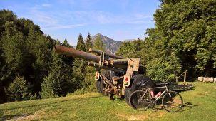 Passo Nota, il cannone della Grande Guerra