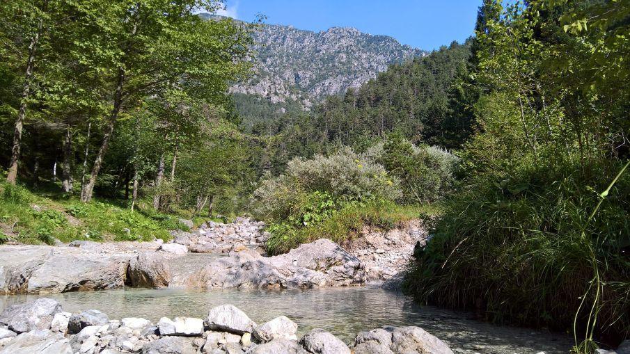 Torrente valle di Bondo