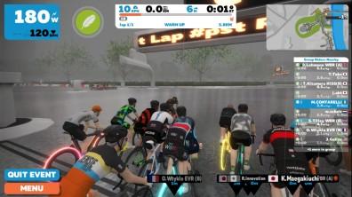 London - Race start