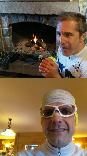 Il Mog e Rick si scaldano
