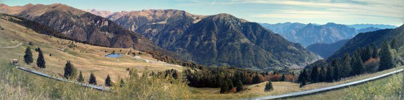 Panorama dal passo Maniva