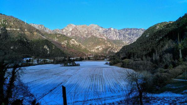 Valle di Bondo, Monte Tremalzo sullo sfondo