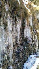 Stalattiti di ghiaccio