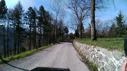 Discesa verso Treviso Bresciano