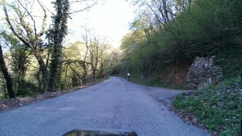 Salita per Monte Altino