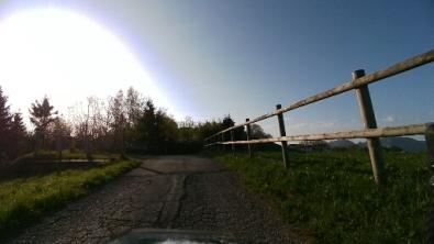 Cementata verso il pilone dello skilift