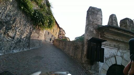 Uscita dal centro storico