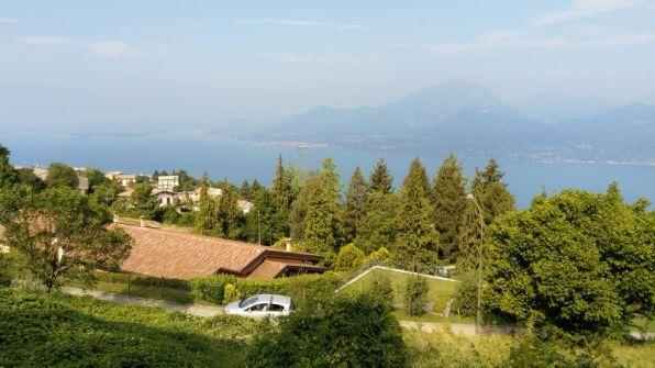 Lago di Garda da San Zeno in Montagna