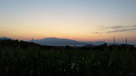 Monte Baldo prima dell'alba