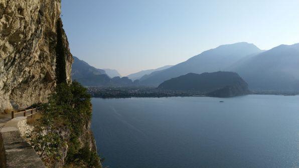 Riva, monte Brione, Torbole dalla Ponale