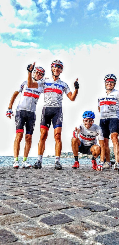 14 Ciclotursiti a Gargnano