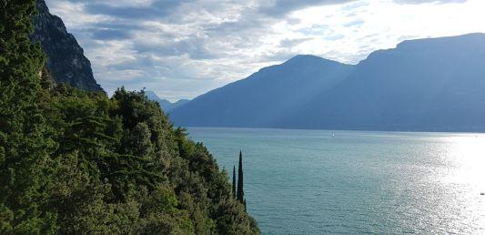 19b Alto lago dalla Forra