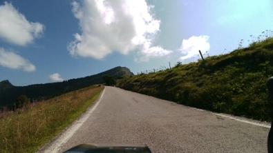 Monte Tremalzo sullo sfondo