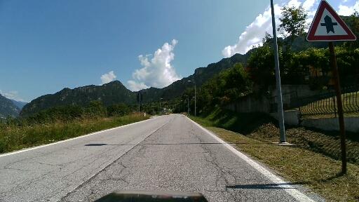 Inizio salita per Capovalle