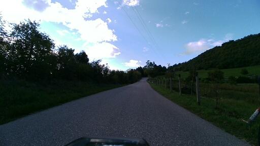 Strada per Brentonico