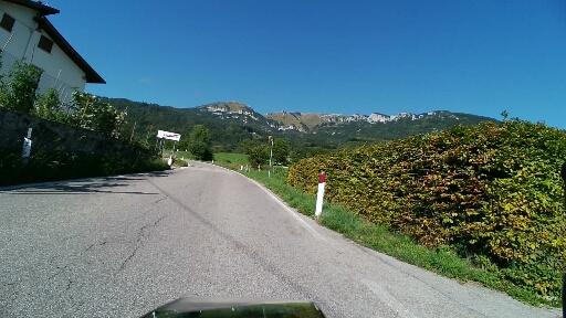 Monte Baldo di fronte