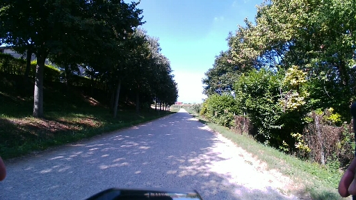 Strada bianca a Monzambano