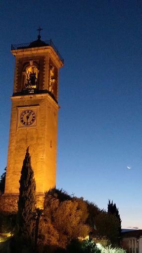 Il campanile di Puegnago
