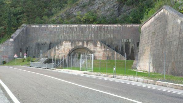 Il canale sotteraneo dell'Adige