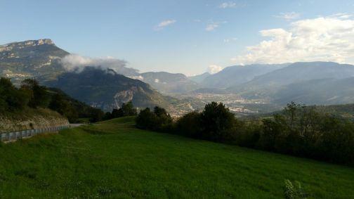 Rovereto e la val d'Adige
