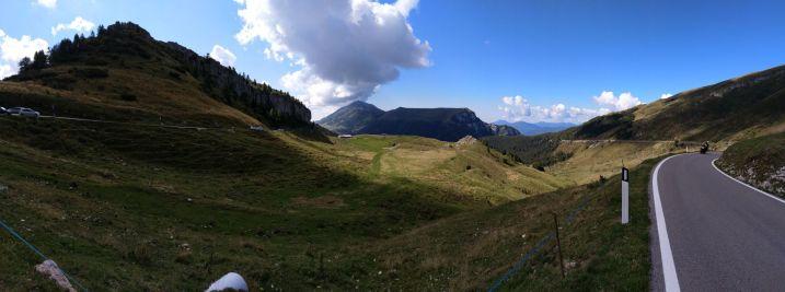 Panoramica dal rifugio Graziani