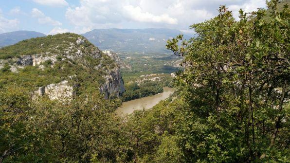 Fiume Adige dalla ciclabile VR-Resia