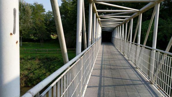 Ponte sul Mella a Seniga