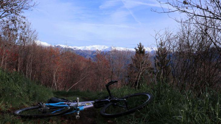 Alpi innnevate sopra i 1.800mt