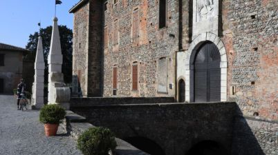 Sergio e il castello di Cavernago