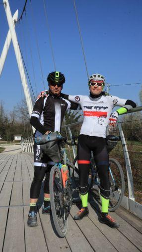 Sergio ed il Mog sul ponte