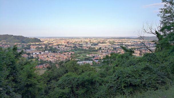 Brescia dal colle San Giuseppe