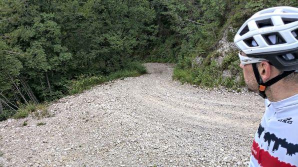 Strada militare per Passo d'Ere