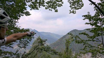 Foschia verso il Monte Tombea
