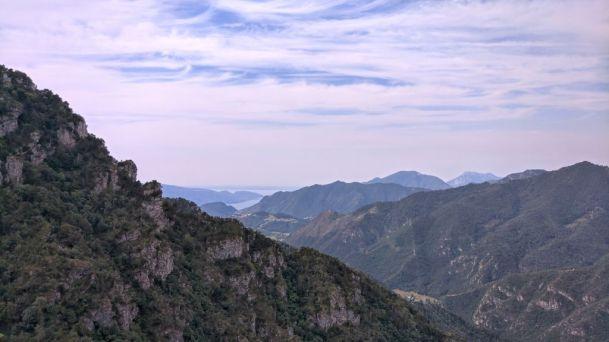 Valle di Bondo e lago di Garda