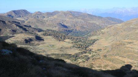Panorama verso la val Camonica