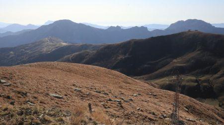 Panorama verso la val Sabbia ed il Garda