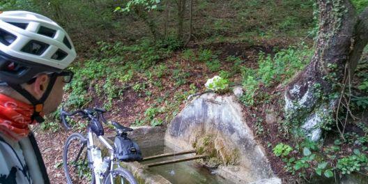 Fontana lungo la strada per Piemp